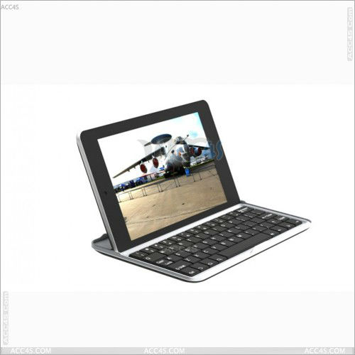 2013 new products on market aluminum mini wireless bluetooth keyboard leather case for google nexus 7 tablet P-GGNEXUS7BTHKB001