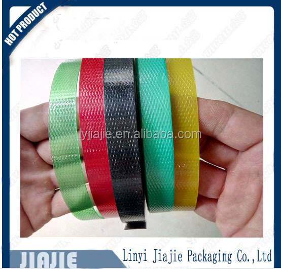 BEST chemical resistance PET green polyester packing strap