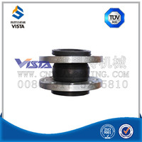 twin sphere water treatment flexible rubber expansion joint