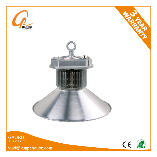 5 years Warranty CE TUV ROHS Listed Indoor Lighting LED High Bay 70w 100w 120w 150w 200w 300w