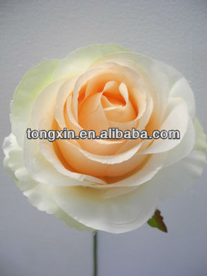 factory silk cloth flower artificial flower corsage