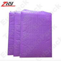 purple custom made bags china, cheap plastic bags