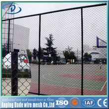 dade wire mesh pvc coated gi chain link fencing manufacturer