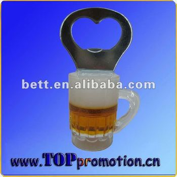 fashion Oktoberfest beer mug shape bottle opener