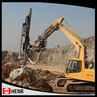 Excavator Mounted Hydraulic Earth Drill Rig