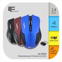 Wireless bluetooth Mouse Fantech W531 High-Tech Wireless Mouse