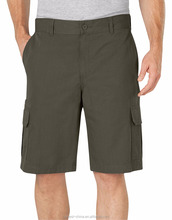 men's comfortable slim fit cargo shorts