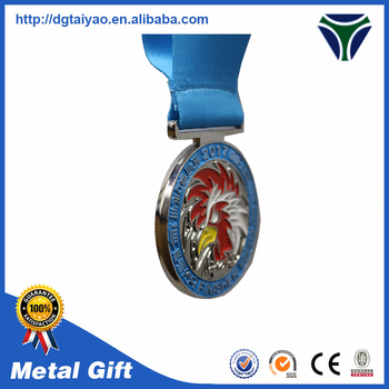 High Quality Custom Die-casting Rooster Zodiac Medal