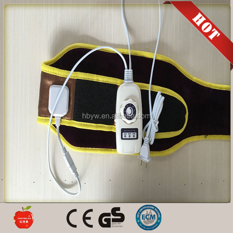 12V/220v electric heating pad Massager slimming tourmaline magnetic heating waist belt/waist massager/electric heating waistband