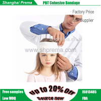 High Quality PBT Coheisve Bandage Medical