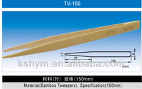 Multifunction High Precision ESD Antistatic Bamboo Tweezer For Electronic Components/Electro-static Discharge Tweezers