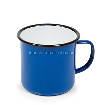 2018 Hot Sale 350ml customized Enamel Mug