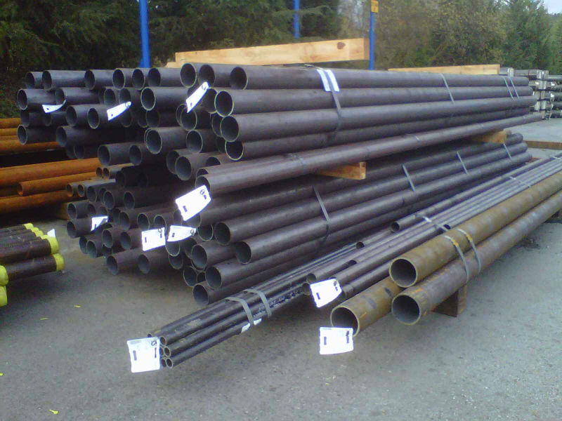 Overroling seamless steel pipes