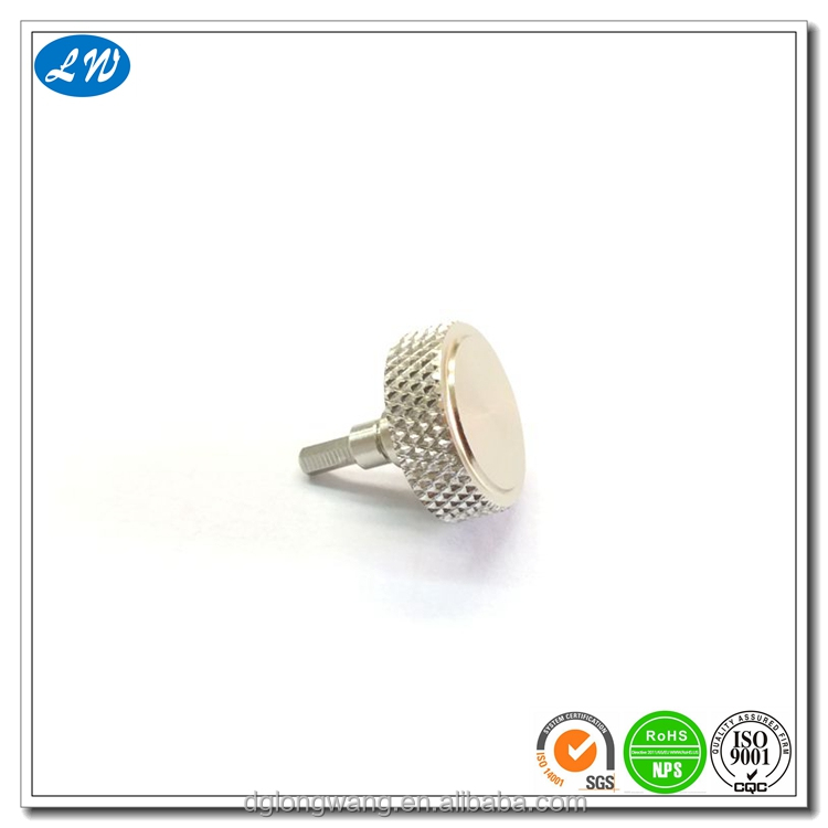High quality push button voice recorder button with Knurling process