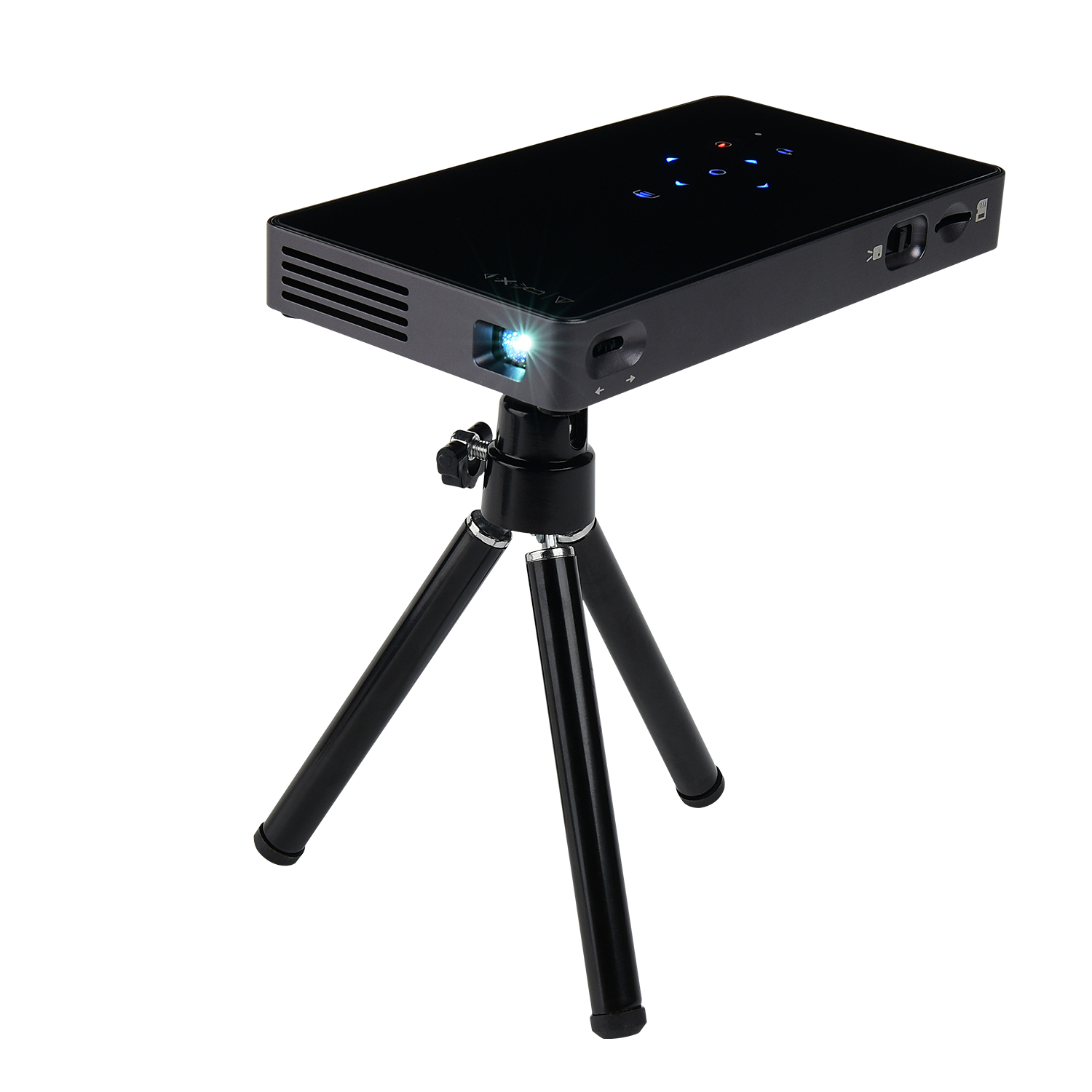 New HD Pico <strong>Projector</strong> P8 HD OUT Android 7.1 Smart Portable mini <strong>Projector</strong> Home Office Wireless WIFI Projection