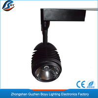 Top quality anti glare 3 years warranty hot sale 35w 40w cob led track light