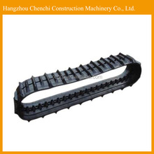 ZX70 excavator undercarriage parts rubber track undercarriage in stock