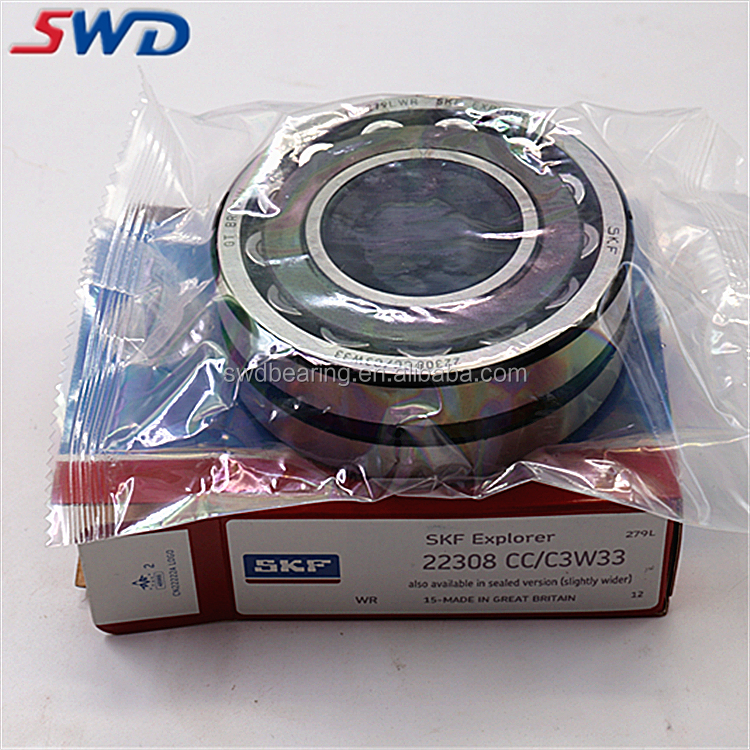 SKF spherical roller bearings water pump bearing 22308 CC/C3W33