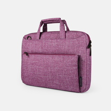 Wholesale New Style Ultra Slim Anti-Shock Waterproof Purple 12.5 Inch Business Ladies Laptop Shoulder Bag