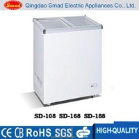Home Appliances small under counter chest showcase freezer for sale