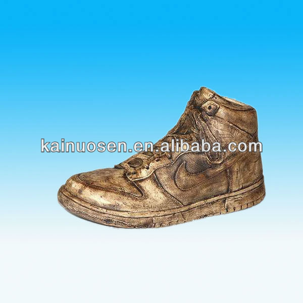 ceamic Antique NIKE sport shoe coin banks