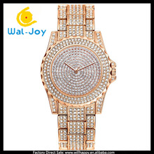 WJ-6433 Luxury All Diamonds Fashion Pretty Women Best Gift Quartz Watch