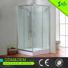 Double open toilet sliding door design shower room for hotels