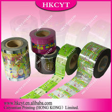 2012 Hot Sales Plastic Printed Packing Roll Film