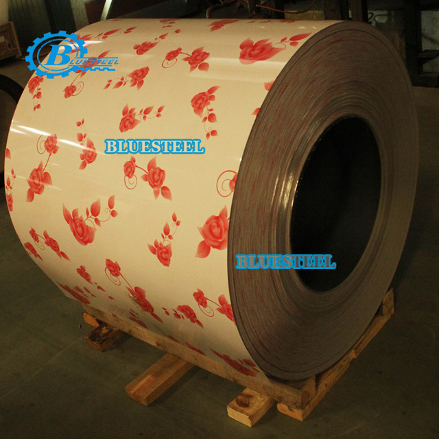 Wood / Marble / Brick / Camouflage / Character Pattern Printed PPGI Steel Coils