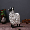 wholesale cute small white sheep toy crafts for children
