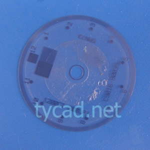 C9016-80039 Encoder disk for the HP PhotoSmart 8050 C3180 C4180 printer parts