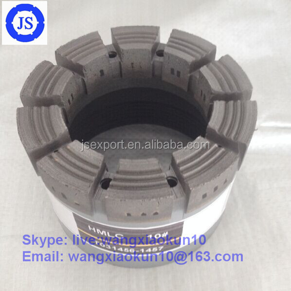 Well Drilling Use and Center Drill Bit Type diamond core drill bit