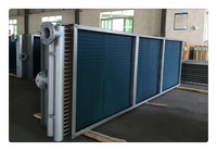 refrigeration evaporator/air cooled condensing heat exchanger