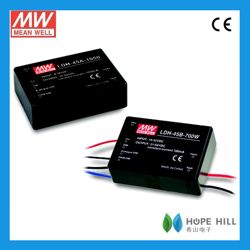 Original MEAN WELL 40W Single Output Switching Power Supply HLP-40H-24