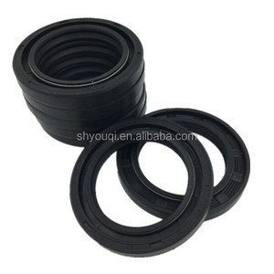 Double Lips rubber Oil Seal + Mechanical metal Frame Skeleton Oil Seals auto gearbox sealing parts