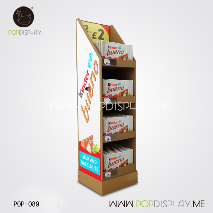 Hot New Products stands for chewing gum display of China National Standard