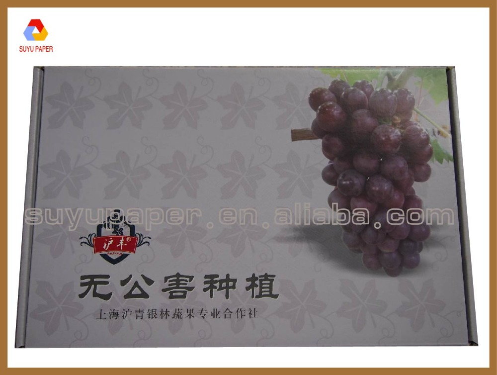 fruit packaging paper box , paper gift box for fruit packaging box