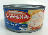 Canned Light Meat Tuna Solid in Vegetable Oil (170 g)