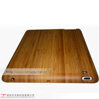 high quality eco-friendly carbonized bamboo protective case cover for ipad2,laser engraving,printing logo,gold foil