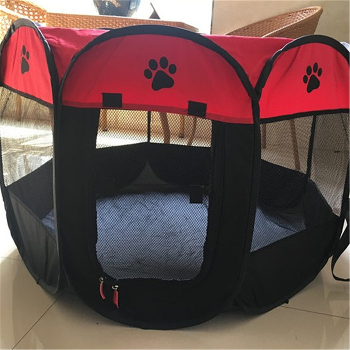2017 new pet tents pop up pet dry room pop up dog show with steel wire frame china making wholesale suppiles