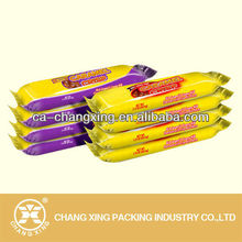 printed wrapper for candy bar plastic film/packaging film for chocolate bar packing