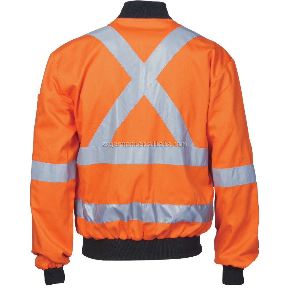 HIVIS COTTON BOMB ER JACKET