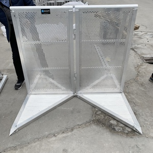 Kkmark Aluminum Crowd Control Concert Stage Safety Barrier Gate