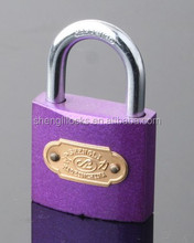 many dimention Popular and nice Color sprayed painted padlock