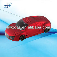 GPS Car Radar Detector in Car-like Mould The Newest design in 2012 GR R8 Red