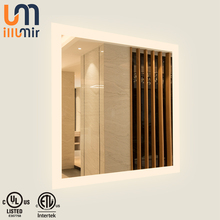 IP44 Heated Anti-Mist LED Luxury Hotel Decoration Wall Mirror