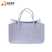 Alibaba eco-friendly durable women felt bag for family daily use