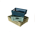 Chinese manufacturer wooden storage crates for sale