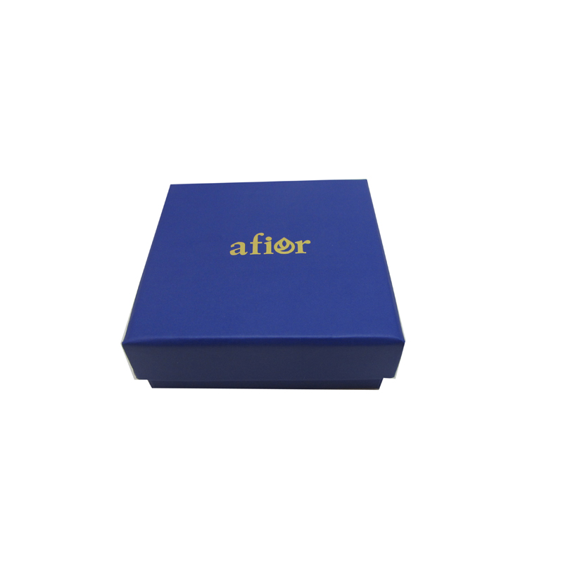 Custom logo printed jewelry gift box cardboard packaging