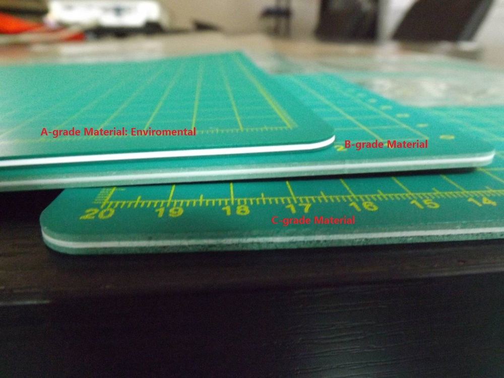 Top Quality Material Professional Translucent Cutting Mats